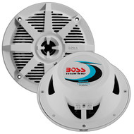 "Boss 5.25"" 2-Way Coaxial Marine Speaker 150W White (R-MR52W)"