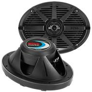 """Boss 6X9"""" 2-Way Coaxial Marine Speaker 350W Black (R-MR692B)"""
