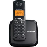 MOTOROLA L601M DECT 6.0 Single-Handset Cordless Phone System with Speakerphone & 3-Line Display (R-MRAL601M)