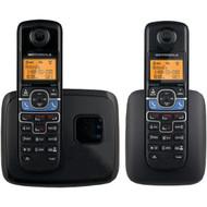 MOTOROLA L702BT DECT 6.0 2-Handset Cordless Phone System with Bluetooth(R) Link (R-MRAL702BT)