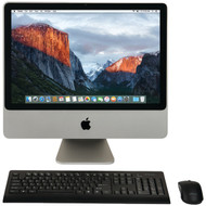 """APPLE MB323LL/A/C2D/2.4/4GB/250GB/10.11 20"""" Refurbished iMac(R) Desktop Computer (R-MWHMB323LL)"""