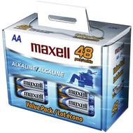 MAXELL 723443 - LR648B Alkaline Batteries (AA; 48 pk; Box) (R-MXLAA48BOX)