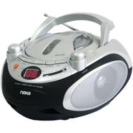 NAXA NPB245 Portable CD Player & AM/FM Radio (R-NAXNPB245)