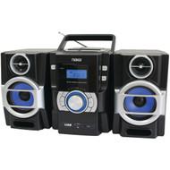 NAXA NPB429 Portable CD/MP3 Player with PLL FM Radio, Detachable Speakers & Remote (R-NAXNPB429)