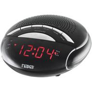 NAXA NRC170 Digital Alarm Clock with AM/FM Radio (R-NAXNRC170)