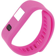 NAXA NSW-13 PINK LifeForce+ Fitness Watch for iPhone(R) & Android(TM) (Pink) (R-NAXSW13PNK)