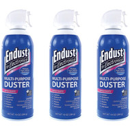 3 Pack Endust 11384 Electronics Duster 10 Oz (R-NOZ11384KIT)