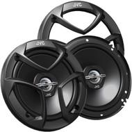 "JVC 6.5"" 2-way Black Coaxial Speakers System Pair"