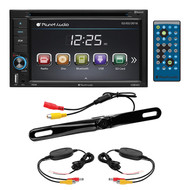 "Planet Audio 6.2"" D.Din With Dvd/Bt & Wireless Backup Camera (R-P9628BWRC)"