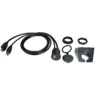 PAC HDMI-USB-CBL Dash-Mount Extension Cables for HDMI(R) & USB, 3ft Each (R-PACHDMIUSBCBL)