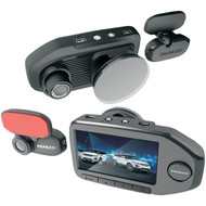 "Papago GS76032G GoSafe 760 Full HD Dual-Camera Dash Cam with 2.7"" Screen (R-PAPGS76032G)"