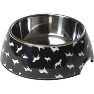 House of Paws HP714M Breed Print Dog Bowl (M) (R-PAWHP714M)