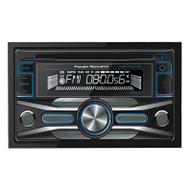 Power Acoustik Ddin Cd/Mp3 Receiver Am/Fm 32Gb Usb Aux Input Bluetooth (R-PCD42B)