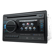 "Power Acoustik 3.4"" DDin DVD/CD/AM/FM USB/SD Bluetooth THIS UNIT DOES FIT AI DDIN DASH KITS (R-PD342B)"