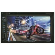 """Power Acoustik Double Din AM/FM/DVD 6.5"""" (R-PD651)"""
