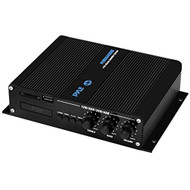 4-Ch. Bluetooth Marine Amplifier | Weather Resistant Audio Amp System with MP3/USB/SD Readers, 400 Watt (R-PFMRA440BB)