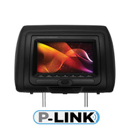 "Planet Audio 7"" Monitor In Headrest Dvd Usb/Sd 3-Color Skins Fm Modulated Wireless Remote (R-PH7ACD)"