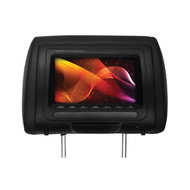 """Planet Audio 7"""" Monitor In Headrest  3-Color Skins Wireless Remote (R-PH7MCS)"""