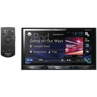 "PIONEER AVH-X490BS 7"" Double-DIN In-Dash DVD Receiver with Bluetooth(R) & SiriusXM(R) Ready (R-PIOAVHX490BS)"