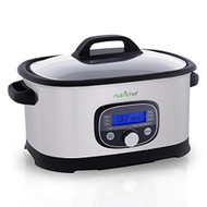 Digital Multi-Cooker, Preset Cooking Functions with Sous Vide Mode, Stainless Steel (R-PKPC35)