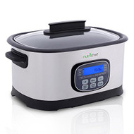 Multi-Cooker with Digital LCD Display, (11) Preset Cooking Modes, Stainless Steel (R-PKPC45)
