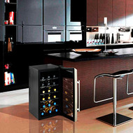 Electric Wine Cooler - Wine Chilling Refrigerator Cellar (18-Bottle) (R-PKTEWC18)