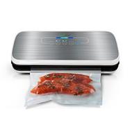 Automatic Food Vacuum Sealer - Electric Air Sealing Preserver System (Silver) (R-PKVS18SL)