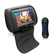 "Pyle 7"" Headrest Display Monitor with CD MP3 USB and SD Readers (PL74DBK) (R-PL74DBK)"