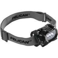 PELICAN 027450-0100-110 33-Lumen 2745 Safety-Approved 3-Mode LED Headlight (Black) (R-PLO2745110)