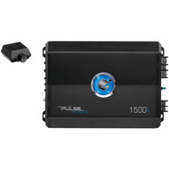 PLANET AUDIO PL1500.1M Pulse Series Monoblock Class AB Amp (1,500 Watts max) (R-PLTPL15001M)