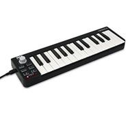 Compact MIDI Keyboard - USB Digital Piano Controller (R-PMIDIKB10)