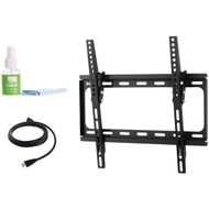 """Fino FT44k2 24""""-55"""" Medium Tilt Mount with HDMI(R) Cable & Screen Cleaner (R-PMTSFT44K2)"""