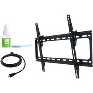 """Fino FT64k2 42""""-75"""" Large Tilt Mount with HDMI(R) Cable & Screen Cleaner (R-PMTSFT64K2)"""