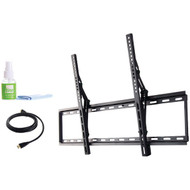 """Fino FT84k2 42""""-80"""" Extra Large Tilt Mount with HDMI(R) Cable & Screen Cleaner (R-PMTSFT84K2)"""