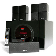 Bluetooth 5.1 Channel Home Theater System - Surround Sound Speakers & A/V Amplifier Receiver, FM Radio (R-PT589BT)