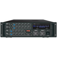 PYLE PRO PMXAKB2000 2,000-Watt Bluetooth(R) Karaoke Amp (R-PYLPMXAKB2000)