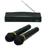 QFX M-336 Twin-Pack Wireless Dynamic Microphone System (R-QFXM336)