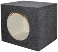 "Empty Woofer Box 12"" Square Qpower (R-QSMPSQ12E)"