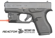 Viridian Reactor 5 Red Laser Sight For Glock 43 Featuring Ecr  Includes Hybrid Belt Holster (R-R5RG43)