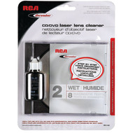 DISCWASHER RD1142 CD/DVD Laser Lens Cleaners (2-Brush; Wet) (R-RCARD1142)
