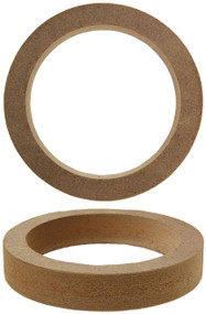 """Nippon 4"""" Speaker Rings Made Of 3/4"""" Mdf (Pair) (R-RING4R)"""