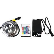MARINE SPORT MS3LEDRGB 3-LED RGB Underwater Light (R-RSPMS3LEDRGB)