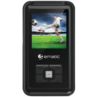 "EMATIC EM208VIDBL 8GB 1.5"" MP3 Video Player (R-SHAGEM208VIDBL)"
