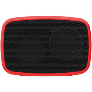EMATIC ESQ206RD Rugged Life NOIZE Bluetooth(R) Speaker (Red) (R-SHAGESQ206RD)