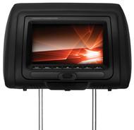 "Soundstorm 7"" Headrest Monitor 3 Colors Bk/Gr/Tan (R-SHR73S)"