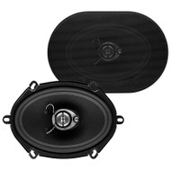 "Soundstorm 5X7"" 3-Way Speaker 300W Paper Cone (R-SLQ357)"