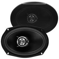 "Soundstorm 6X9"" 4-Way Speaker 500W Paper Cone (R-SLQ469)"