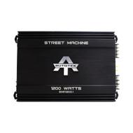 Autotek Monoblock Amp 1x600 @ 4 Ohms 1x1200 Watts @ 2 Ohms (R-SMA12001)