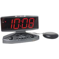 Sonic Alert Amplicall500 Wake-up Call Alarm Clock with Super Shaker(TM) (R-SONAAMPLICALL)