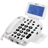 geemarc BDP400 Big-Display 40dB Amplified Telephone with Talking Caller ID (R-SONBDP400)